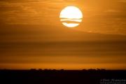 Sunrise over the Ngorongoro Rim